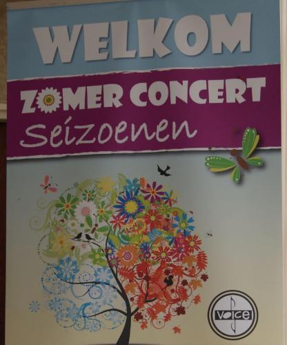 Concert 'Seizoenen' - 20 juni 2015